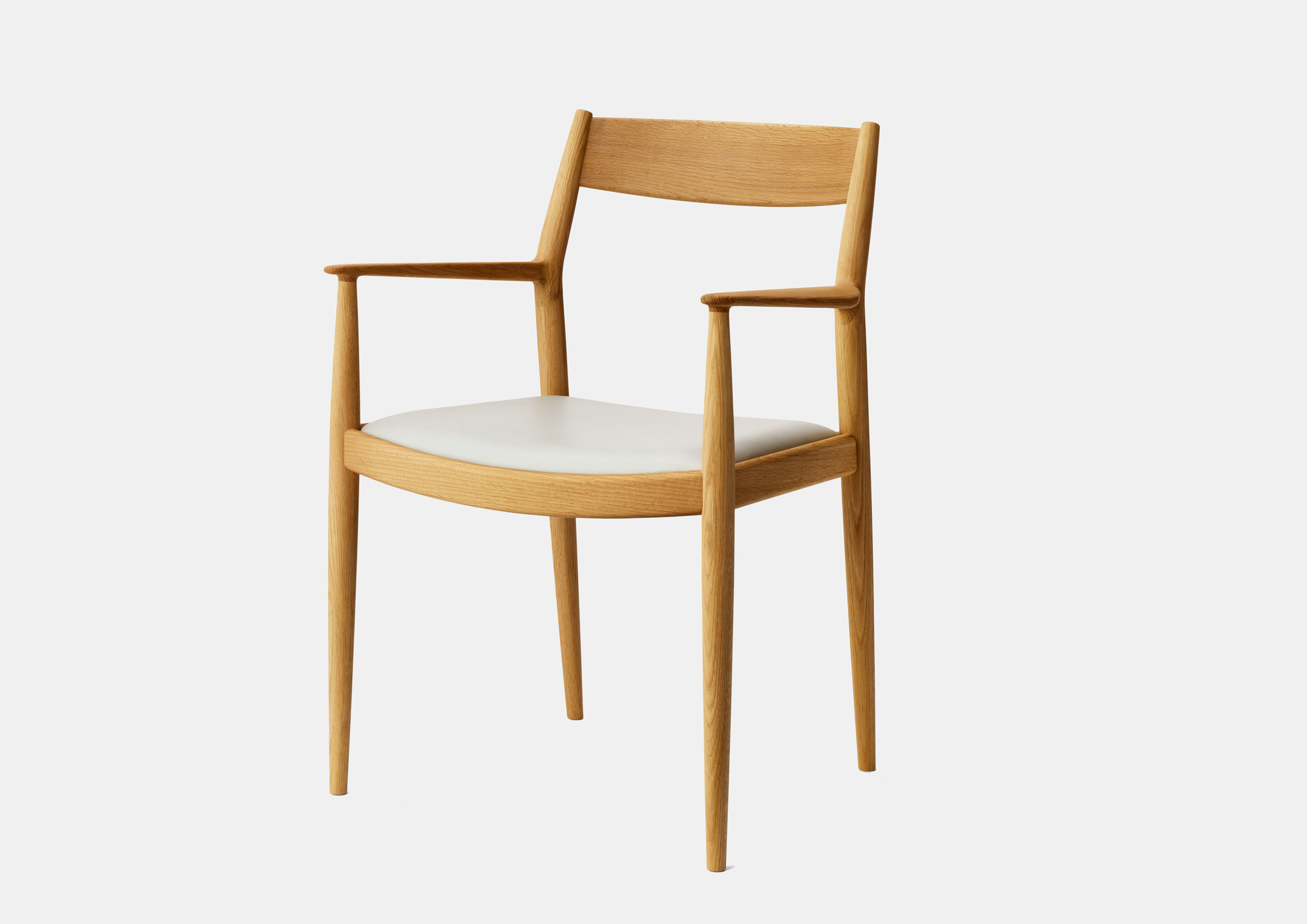 Wooden Kinuta dining chair by Norm Architects for Karimoku