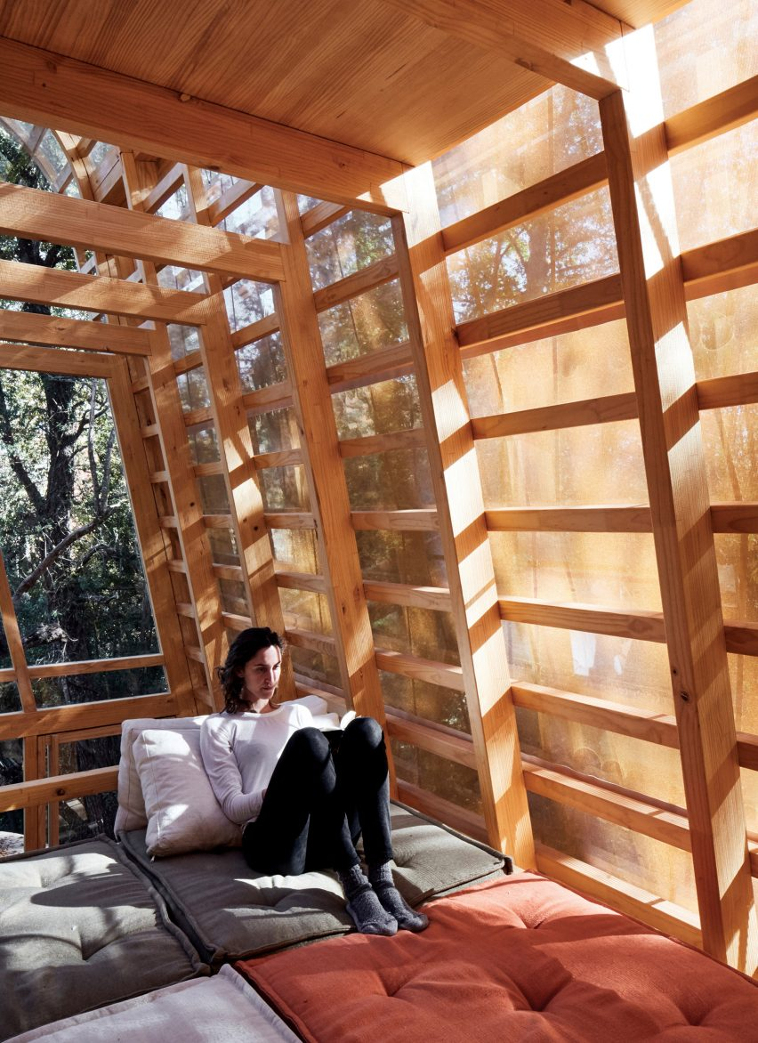First floor in La Invernada by GAAA