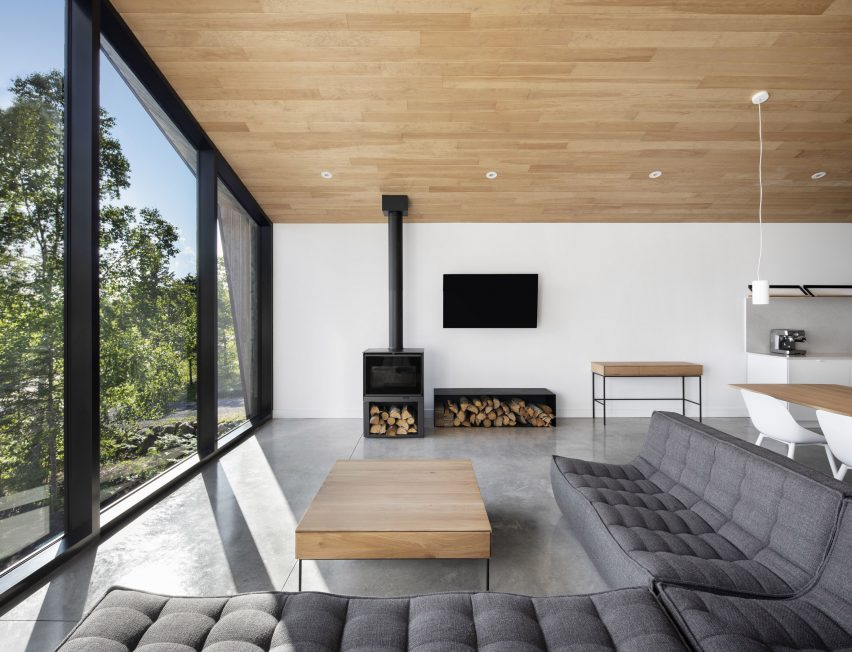 Living room at Le Littoral by Architecture 49