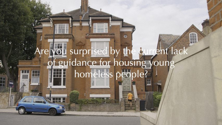 Homeless guidance for young people