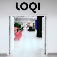 Entrance to LOQI Activity Office by Studio Aisslinger
