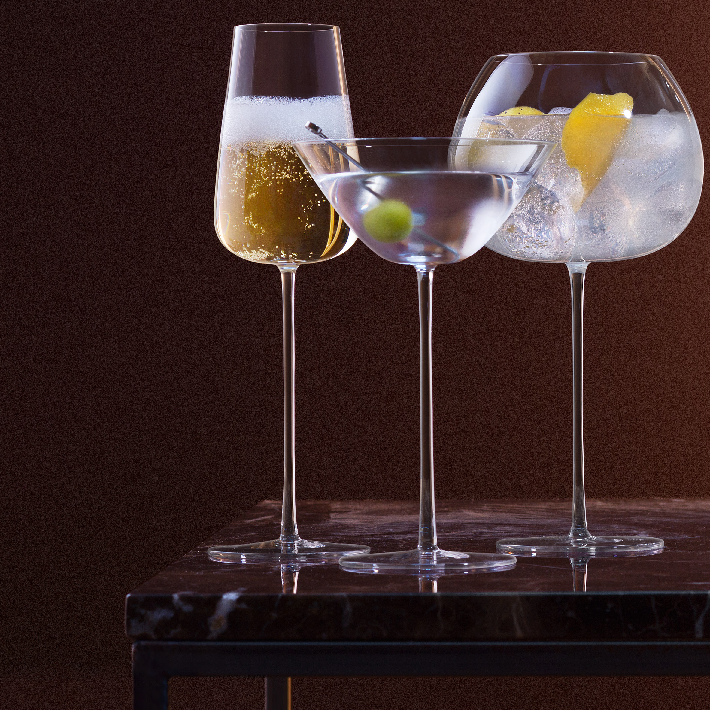 LSA Bar Culture Cocktail Glasses