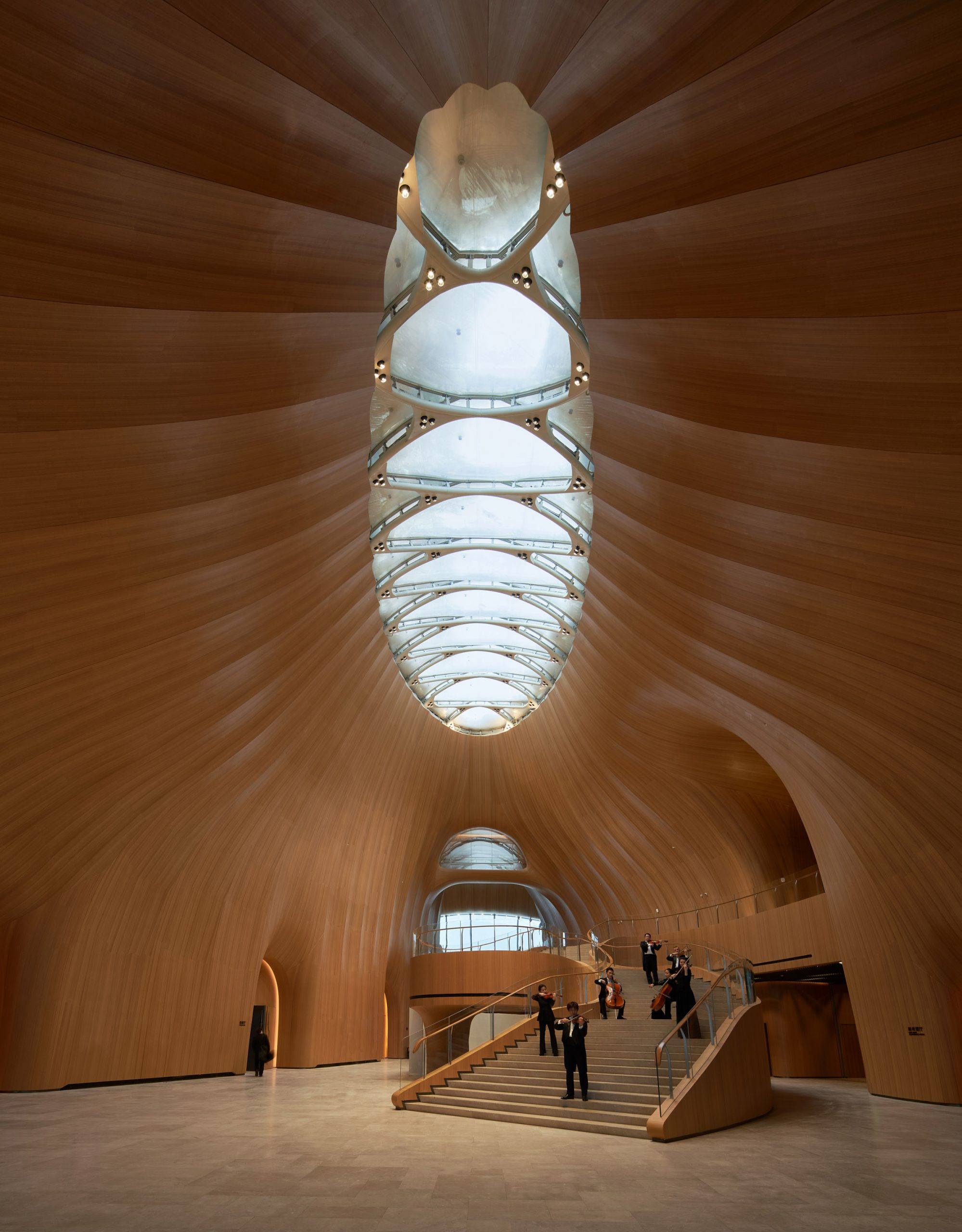 Conference centre skylight by MAD
