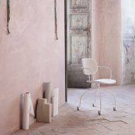 Magenta chair by Raffaella Mangiarotti for IOC Project Partners