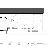 Ground floor plan in Mountain View by CAN Architecture