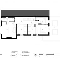 First floor plan in Mountain View by CAN Architecture