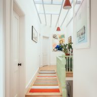 First floor hallway of Mountain View by CAN Architecture