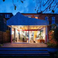 Exterior night view of Mountain View by CAN Architecture