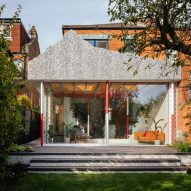 CAN adds fake mountain to Edwardian house in south London