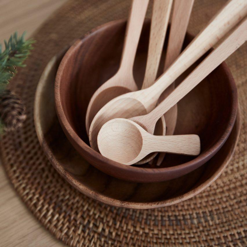 Muji Beech Tableware
