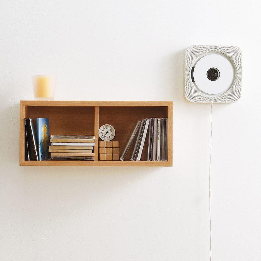 Muji Wall Mounted CD Player and Radio
