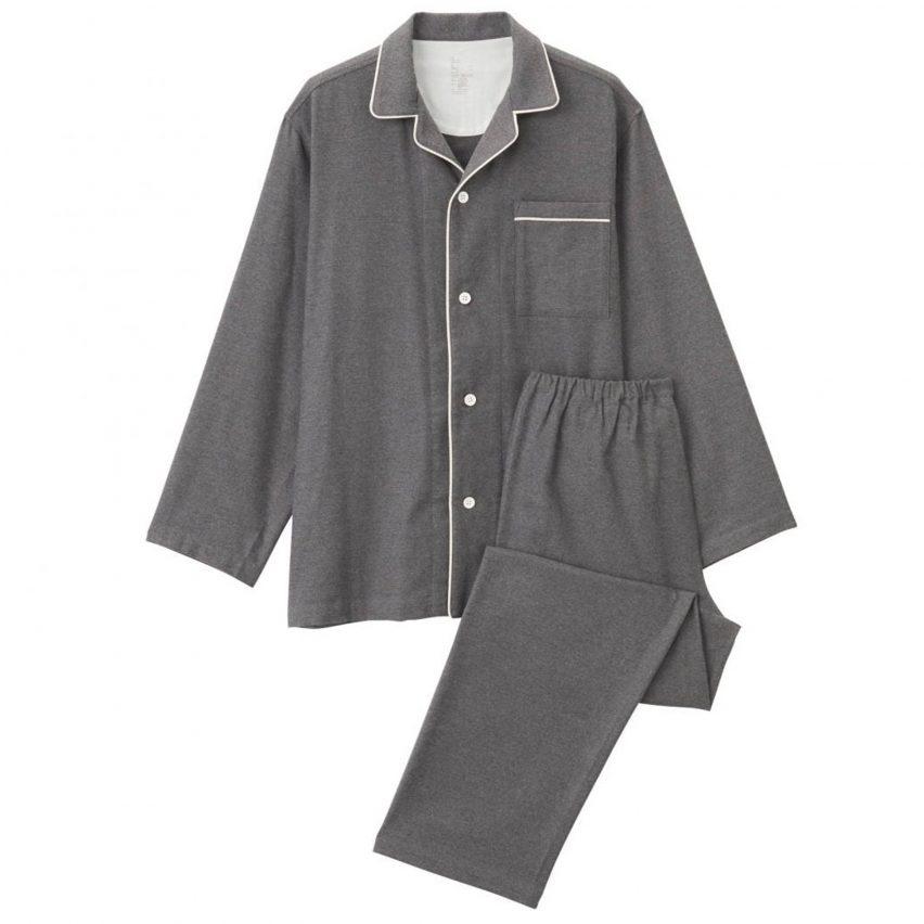 Muji Seamless Flannel Pyjamas