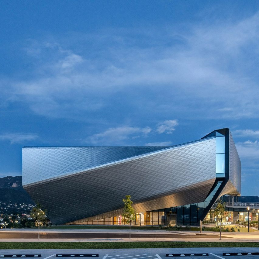 The exterior of US Olympic and Paralympic Museum, USA, by Diller Scofidio + Renfro