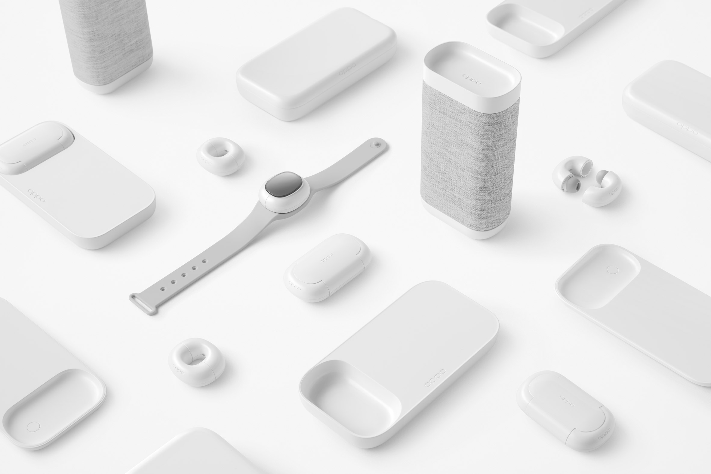 The Music-Link mobile accessory collection by Nendo for OPPO