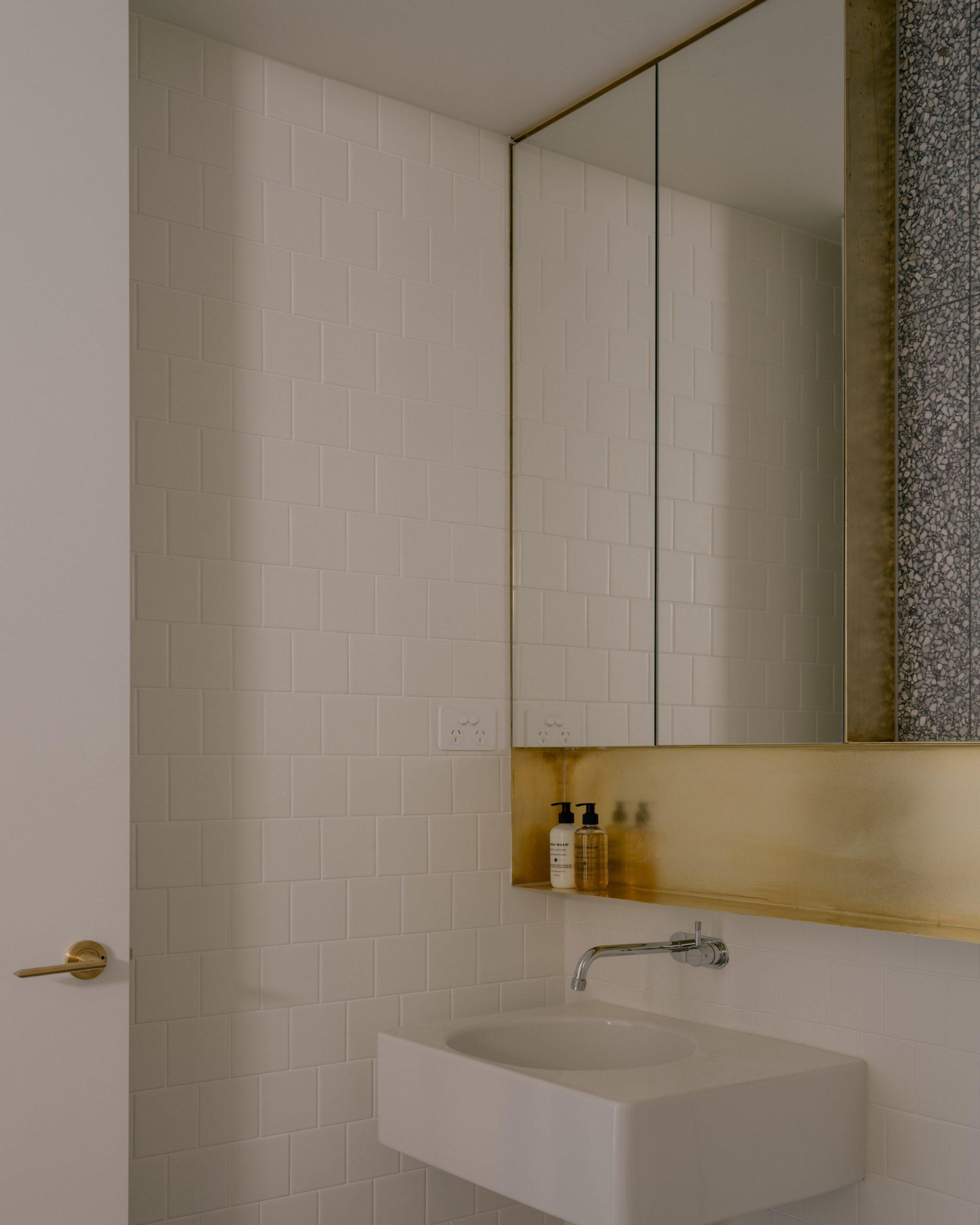 Bathrooms of Napier Street apartments by Freadman White