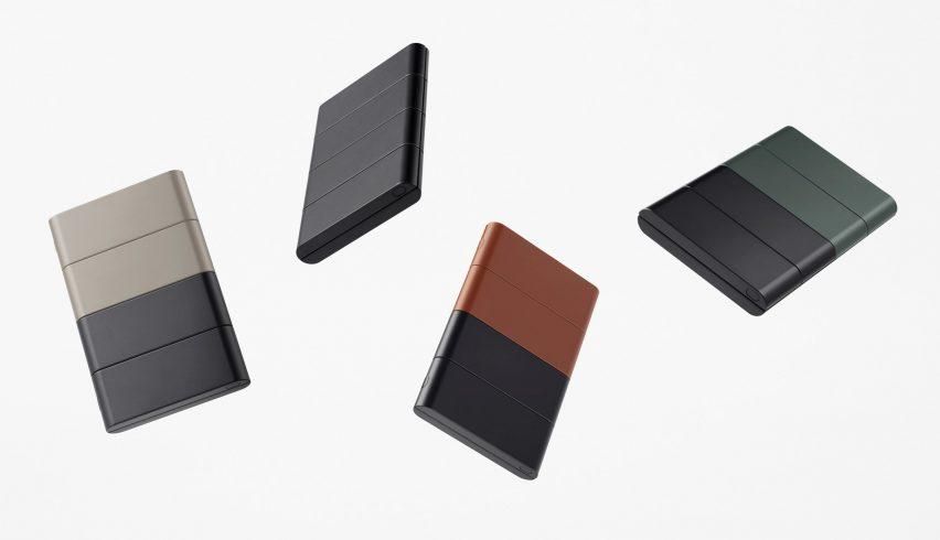 Έννοια Slide-phone που παρέχεται από τη Nento για OPPO σε διαφορετικά χρώματα