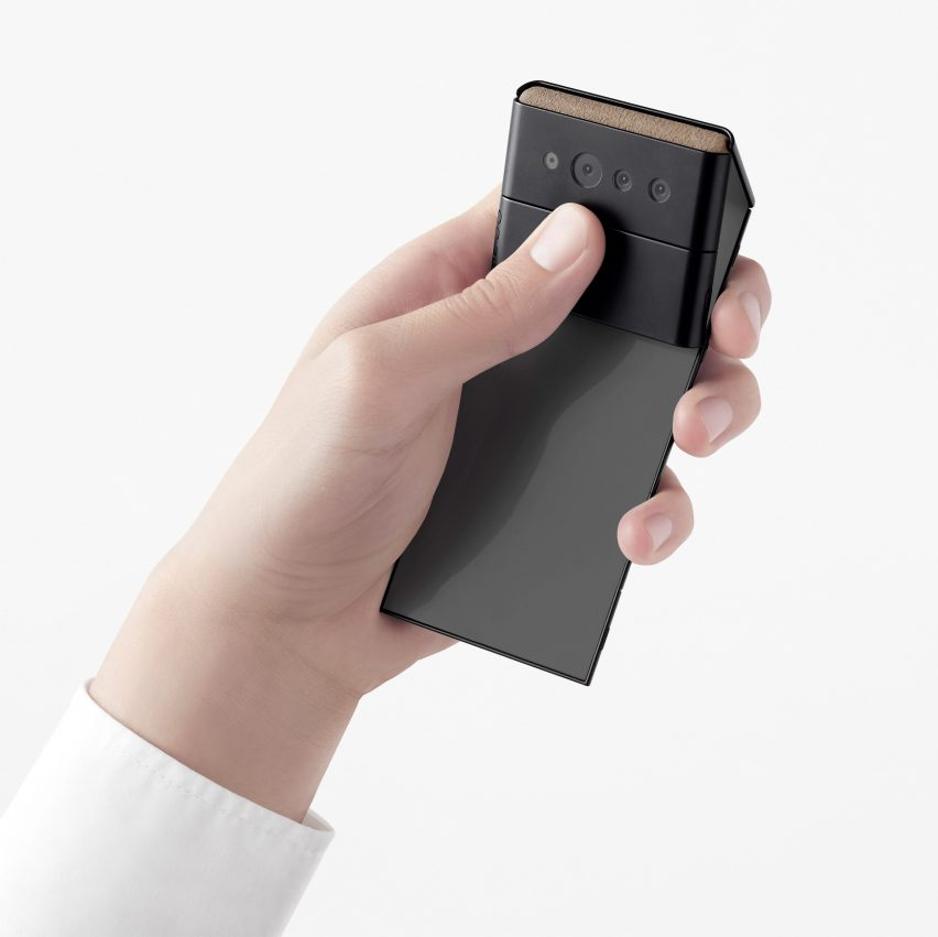 The Slide-Phone concept by Nendo for OPPO