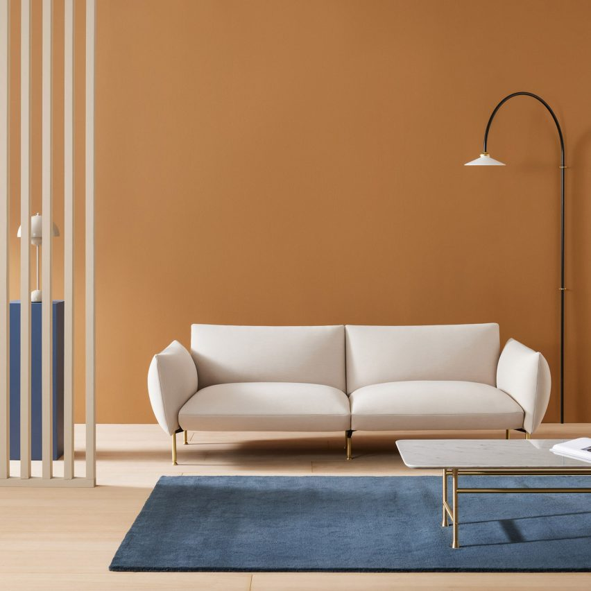 Nota sofa by Note Design for Basta