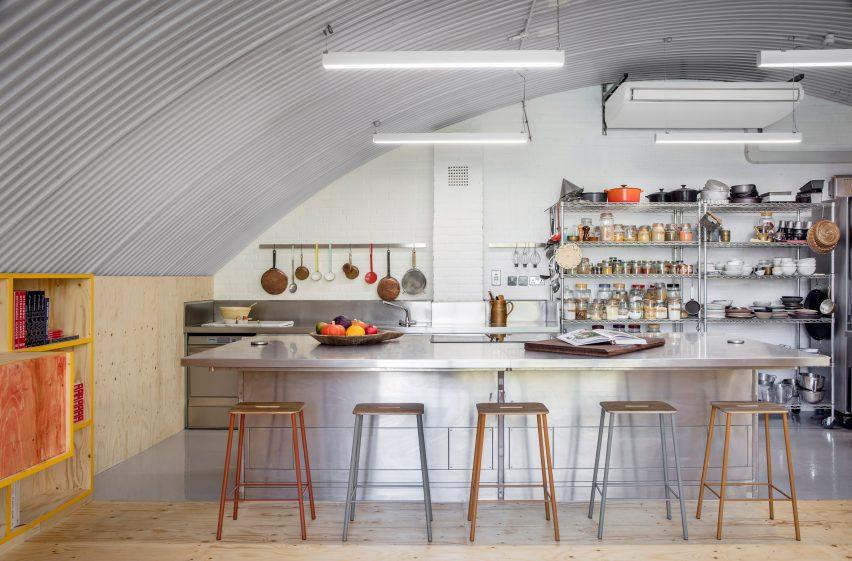 Yotam Ottolenghi's test kitchen