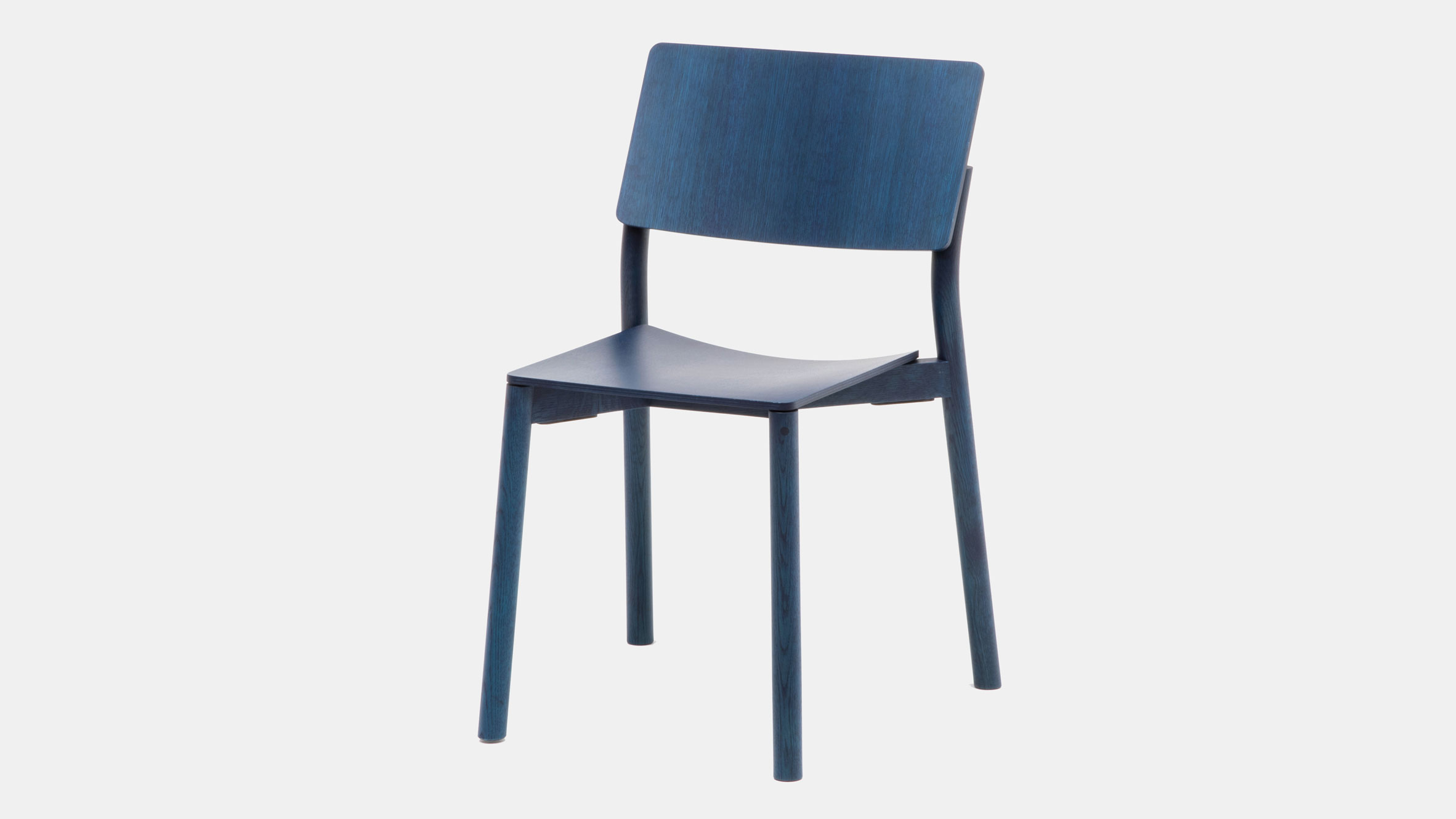 Blue Panorama chair by Geckeler Michels for Karimoku