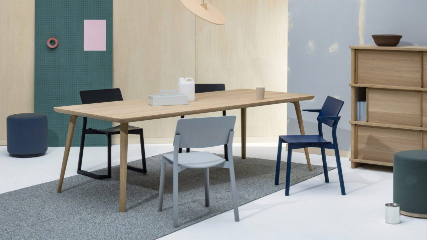 Panorama chair by Geckeler Michels for Karimoku in an interior