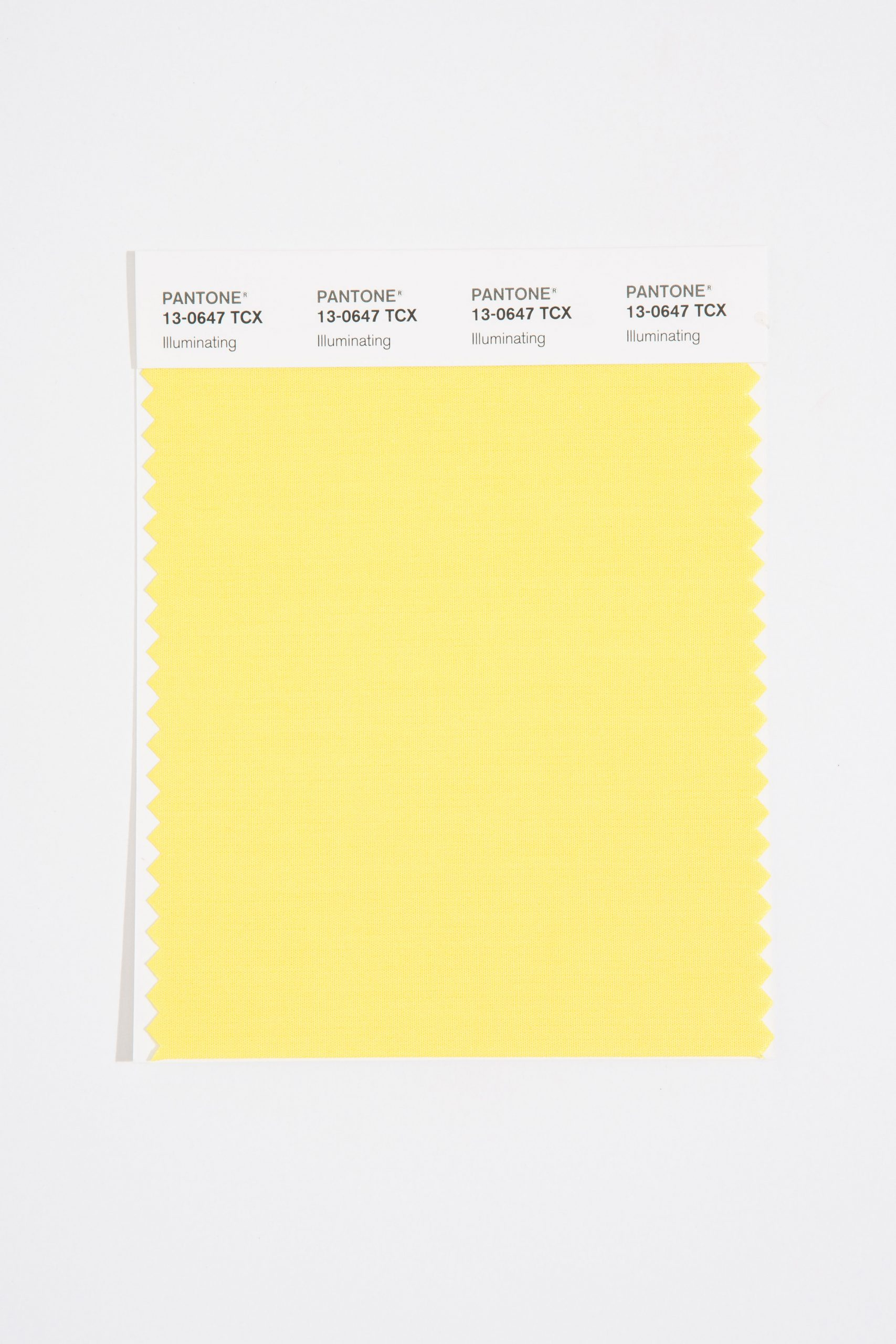 Illuminating is one of Pantone's colours of the year for 2021