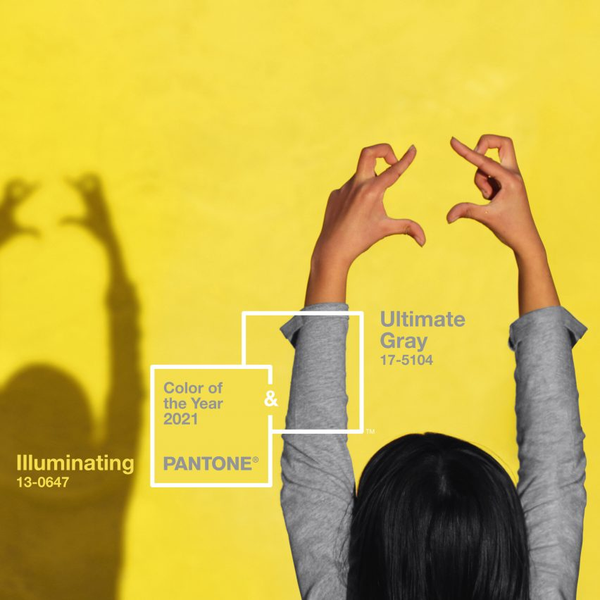 Ultimate Gray and Illuminating are Pantone's Colours of the Year for 2021