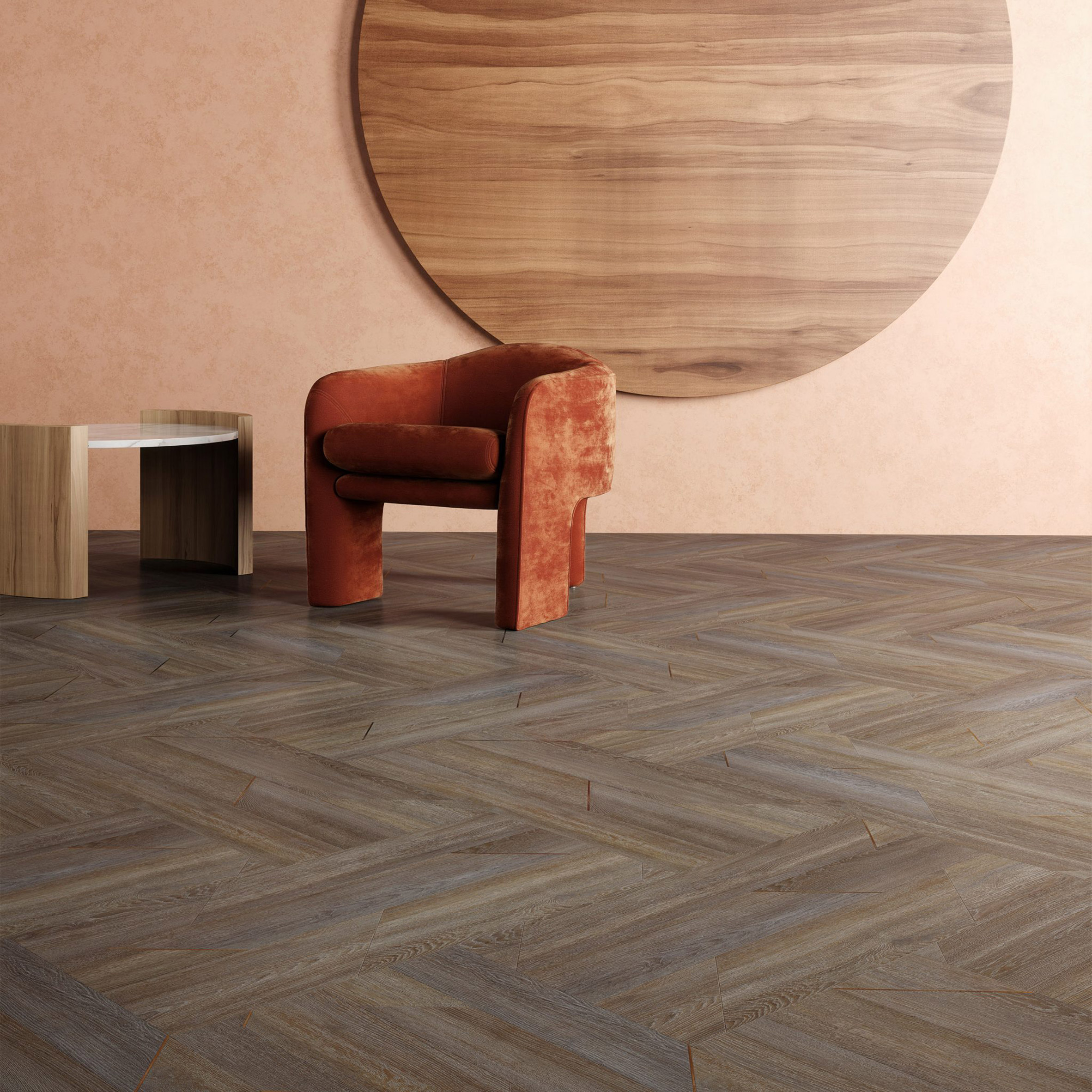 Inset flooring collection by Patcraft