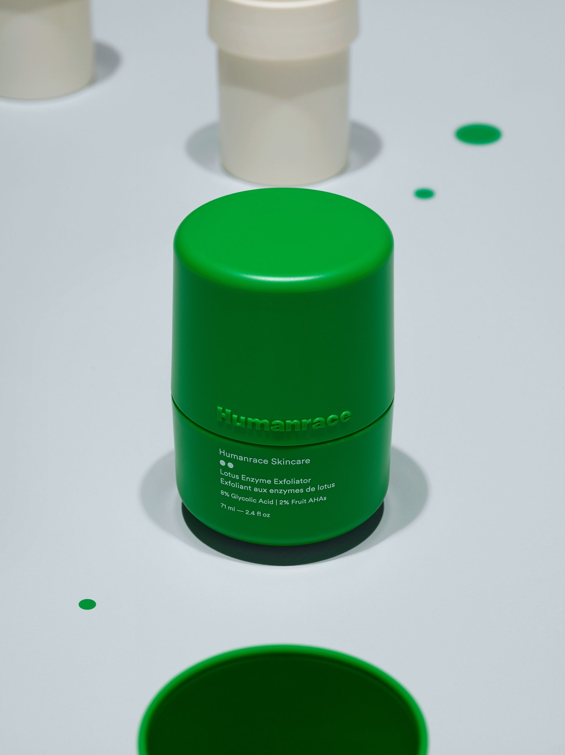 Lotus Enzyme Exfoliator, step two Humanrace by Pharrell Williams