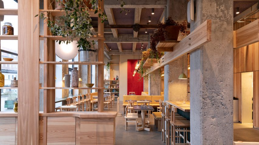 POPL burger restaurant by Spacon & X and e15 for Noma