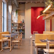 Spacon & X creates casual diner for Noma's burger spinoff POPL