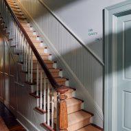 Interiors of Post House inn in Charleston, South Carolina