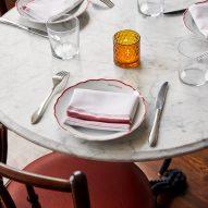 Restaurant inside Post House inn in Charleston, South Carolina