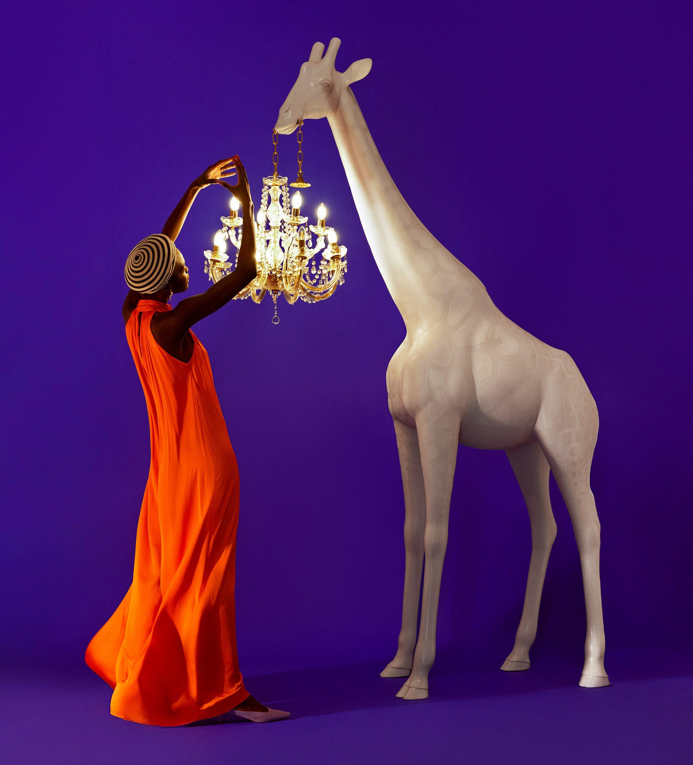 Marcantonio's Giraffe in Love