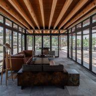 Interior of Rancho Sierra Allende by Fabián M Escalante H Arquitectos