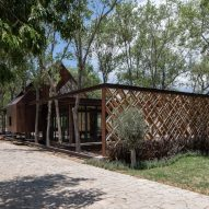 Fence at Rancho Sierra Allende by Fabián M Escalante H Arquitectos