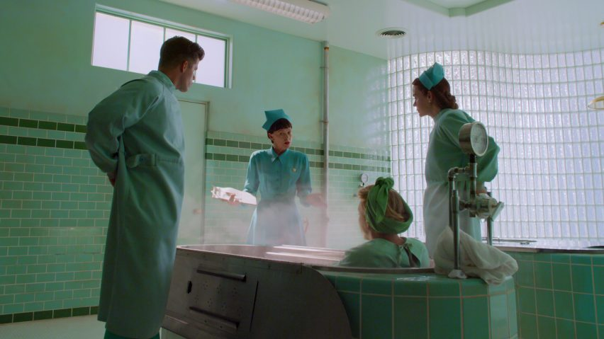 Hydrotherapy room from Netflix's Ratched