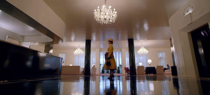 Lucia State Hospital lobby from Netflix's Ratched