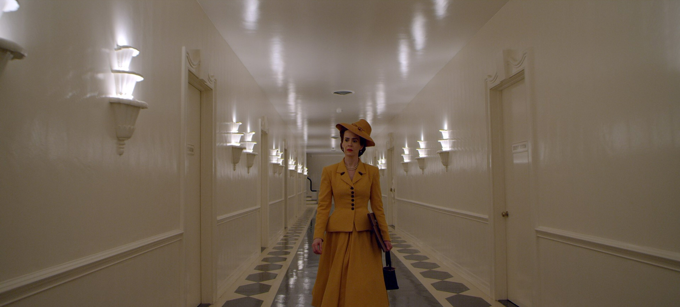 Lucia State Hospital hallway from Netflix's Ratched