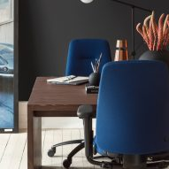 Close up of the RH New Logic chair by Flokk