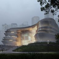Zaha Hadid Architects unveils pebble-shaped science museum for Shenzhen