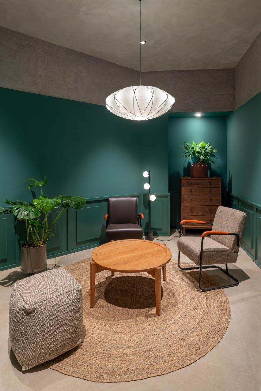 Конференц-залы внутри офиса, спроектированные Linehouse