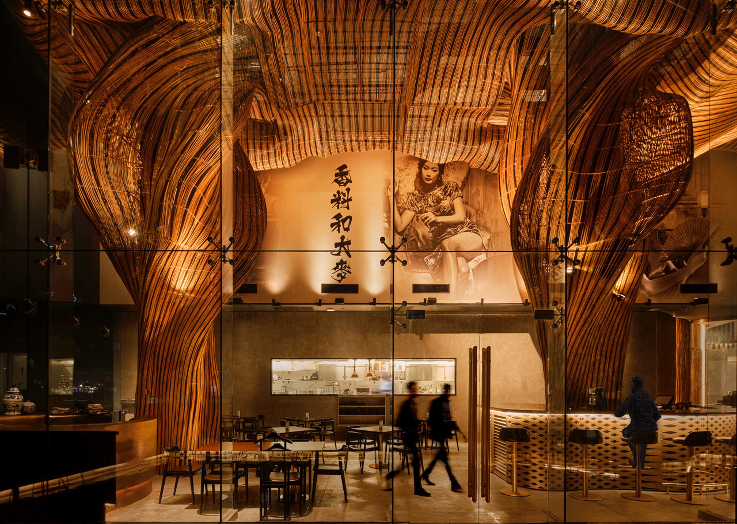 Interior of Spice and Barley by Enter Projects Asia