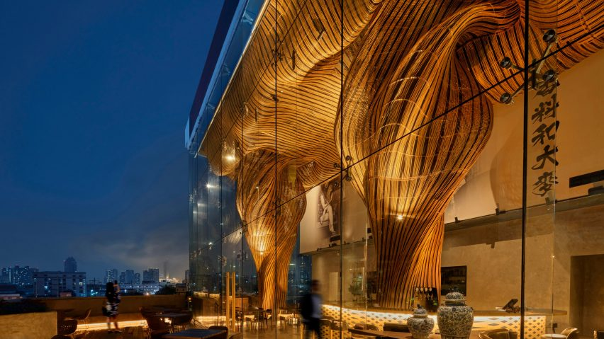 Exterior of Spice and Barley by Enter Projects Asia