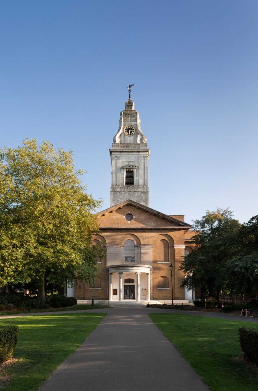 The refurbished St John at Hackney by John Pawson and Thomas Ford & Partners