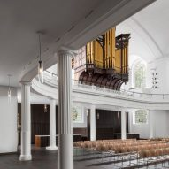 A wing of the refurbished St John at Hackney by John Pawson and Thomas Ford & Partners
