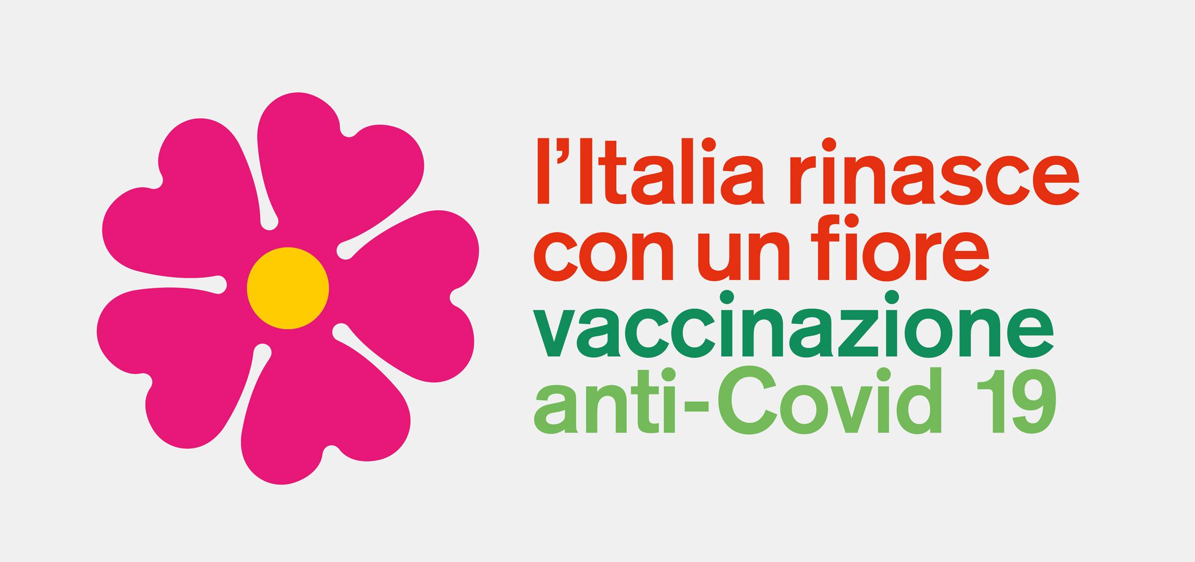 Stefano Boeri coronavirus vaccine campaign logo