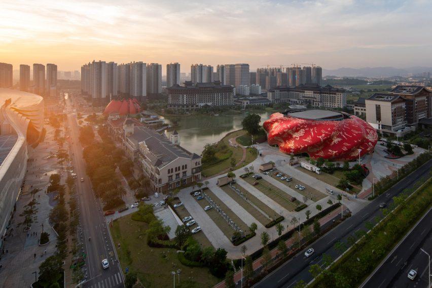 Mixed-use development near Guangzhou