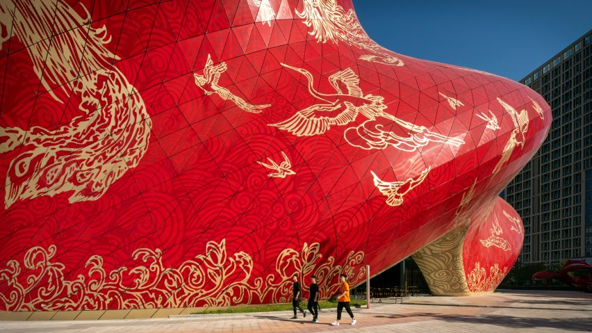 Cladding with tattoo informed designs