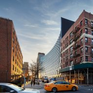 "Curved facade of BIG's Harlem development looks ""great in the photos"" says commenter"